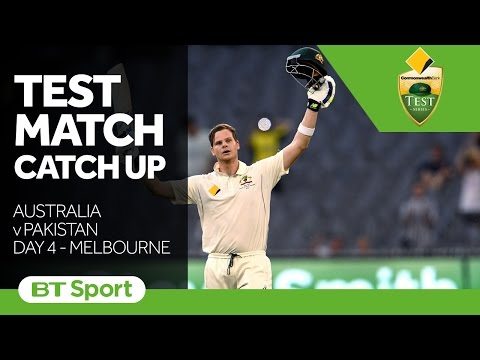 Australia vs Pakistan  Second Test Day Four Highlights   Test Match Catch Up New Flash Game