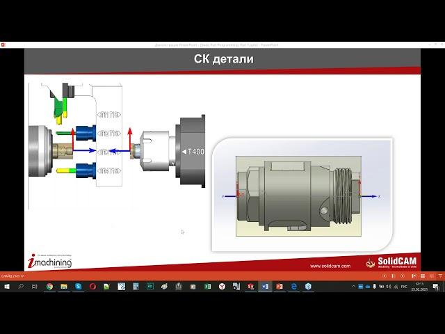 Программирование АПТ в SolidCAM