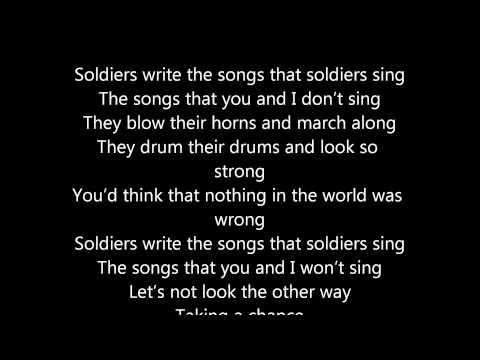 ABBA Soldiers Lyric Video