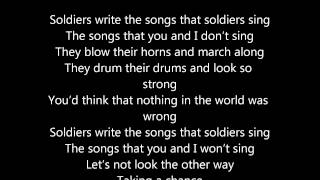 ABBA Soldiers Lyric Video(ABBA Soldiers please purchase this on iTunes or at ABBAsite.com., 2012-05-01T05:43:28.000Z)
