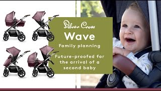 Silver Cross Wave Pram & Pushchair NEW! - Direct2Mum