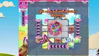 Candy Crush Saga Level 1081 No Booster   LUCK ONLY LEVEL