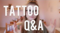 Tattoo Q&A (Regrets, Pain + MORE)