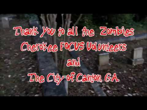 ZOMBIE FEST  in Canton, GA. with THANKS to Cherokee FOCUS volunteers 10/4/2014