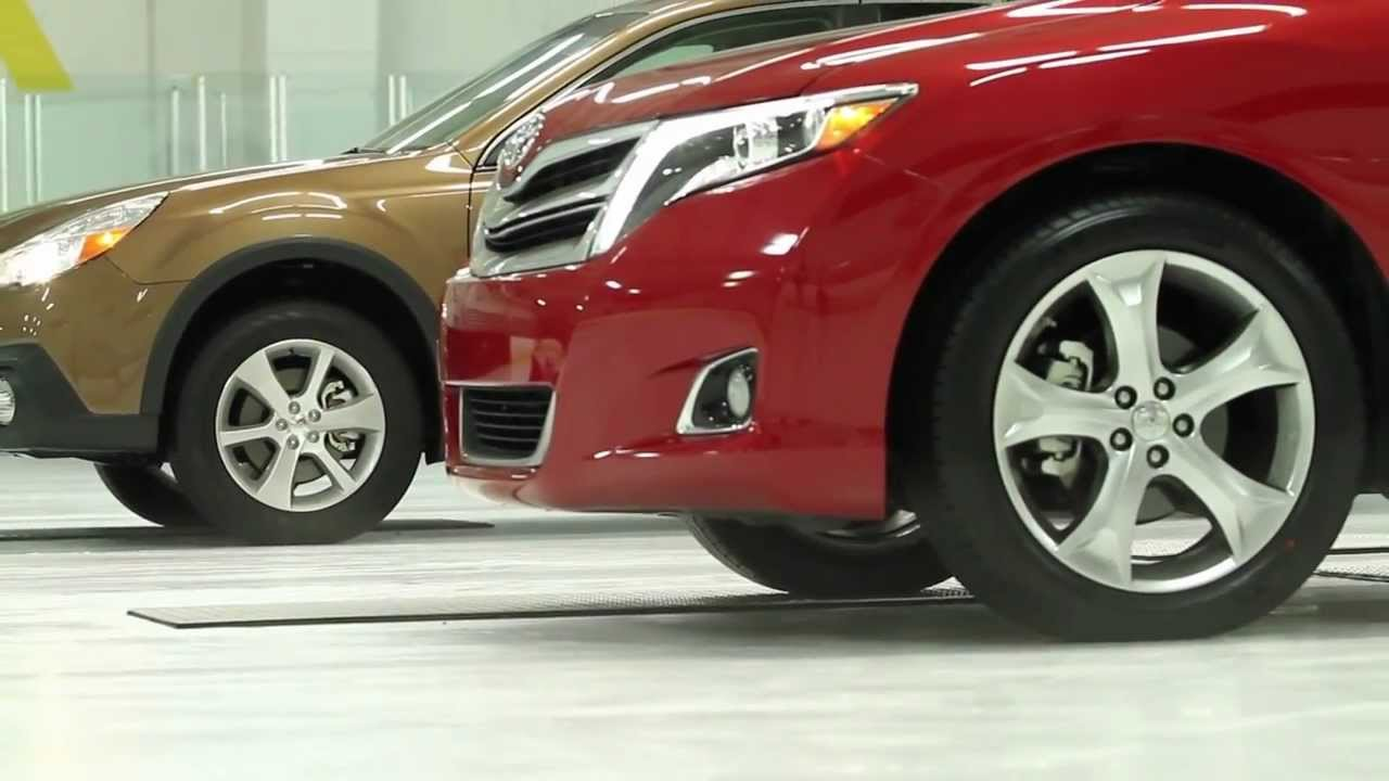 Lovely 2013 Subaru Outback Vs. 2013 Toyota Venza All Wheel Drive Traction  Testu2014AMCI Testing Certified   YouTube
