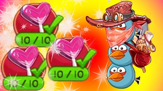 Angry Bird Epic ♥ NEW Event VALENTINE'S DAY - FULL HEART LOLLIPOP