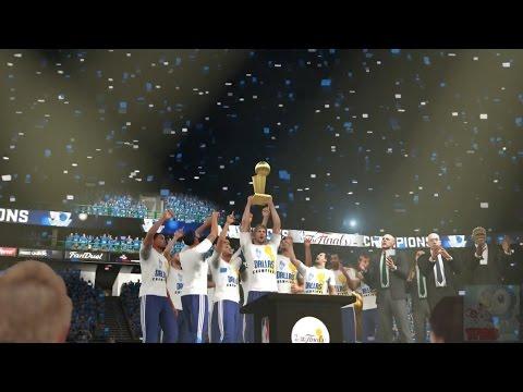 NBA 2K16 - Dallas Mavericks Championship Celebration