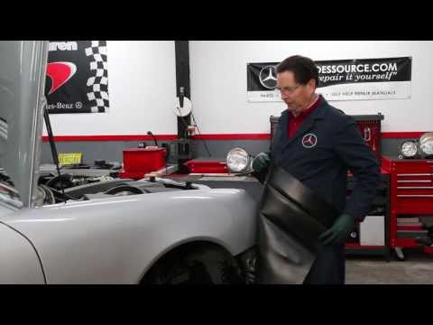 DIY Car Repair Quick Tip #10: How to Keep Your Fender Cover in Place When Working on Your Engine