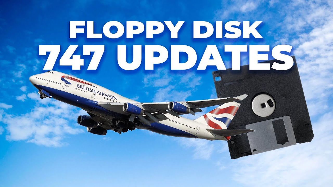 The Boeing 747-400 Is Still Updated With Floppy Disks – Here's Why
