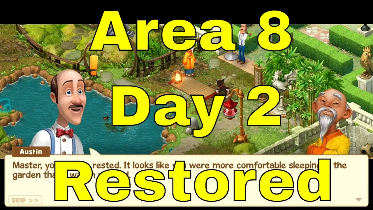 Charming Gardenscapes New Area 8 Day 2 Restored/Top Garden Designing Free Android U0026  Ios All Age Peopleu0027s Game