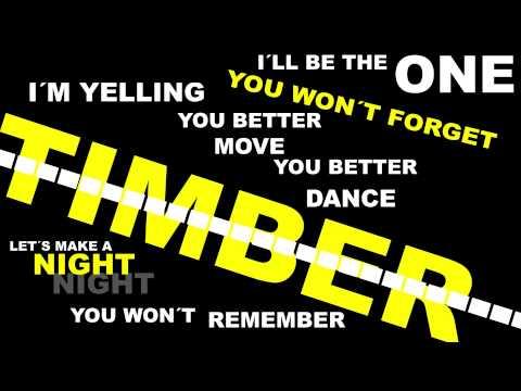 Pitbull - Timber (Lyrics) Feat. Ke$ha
