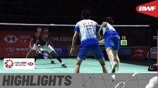 Fuzhou China Open 2019 | Quarterfinals MD Highlights | BWF 2019