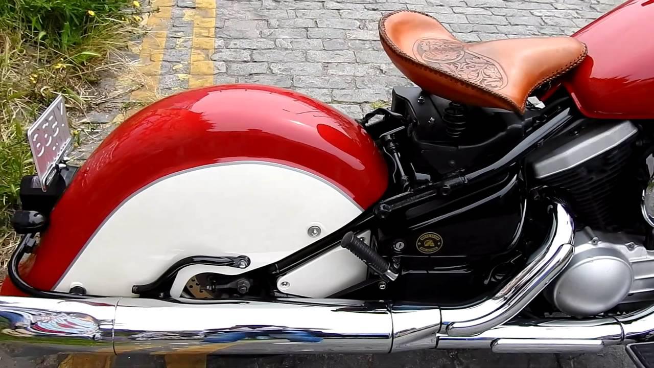 Kawasaki Drifter Indian Tribute