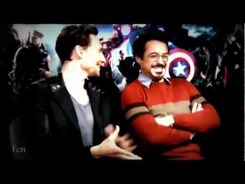 ♥ The Avengers Cast || Cross my heart(Gag Reel)♥