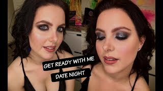 GET READY WITH ME: Glamorous First Date Makeup & Hair (Beauty By Luba)