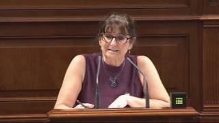 Conchi Monzón (Podemos) denuncia la pérdida de 1000 trabajadores públicos en los últimos años