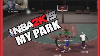 NBA 2K15 My Park - WELP.... THAT WAS QUICK - NBA 2K15 My Park 2 on 2 Gameplay