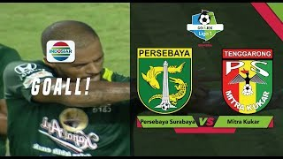 Download Video Goal David da Silva - Persebaya Surabaya (2) vs (0) Mitra Kukar   Go-Jek Liga 1 Bersama Bukalapak MP3 3GP MP4