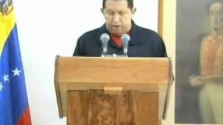 Mensaje Del Presidente Chávez De Su Enfermedad Desde Cuba 30-06-11