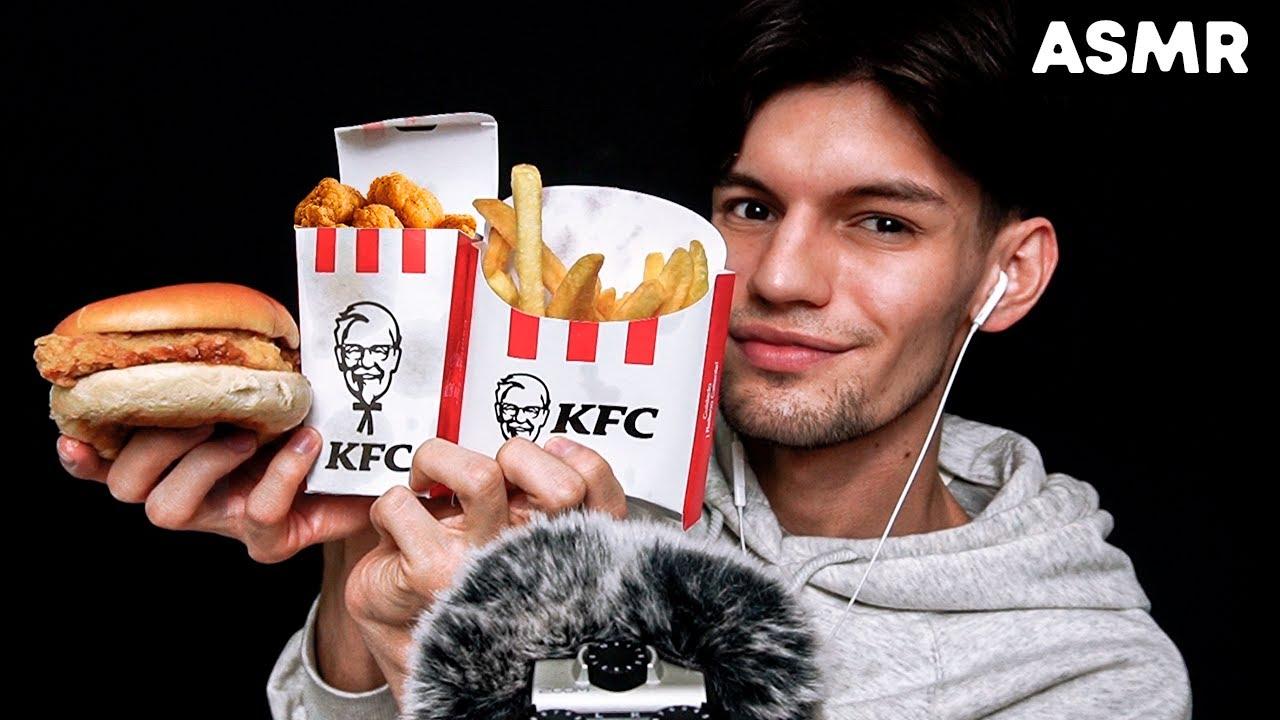 ASMR StoryTime: Mi pasado Heter0 y ASMR comiendo KFC - asmr español - mol asmr