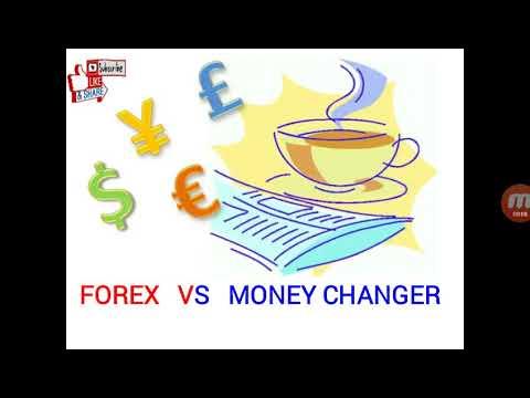 Perbedaan forex dengan money changer