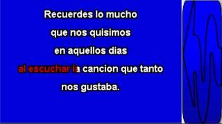 Karaoke Lagrimas Al Recordar Los Caminantes