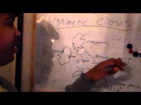 Mimetic crisis (an example of ancient London) 1/2