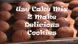 Use Cake Mix 2 Make Delicious Cookies