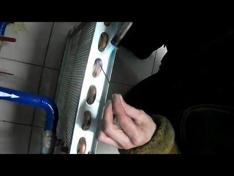 Пайка медного радиатора( Brazing radiator)