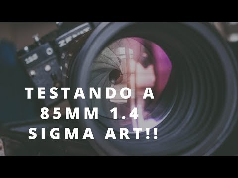 Fotografia - 85mm 1.4 sigma ART é boa?