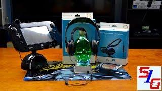 WiiU Double Gaming Headset Unboxing