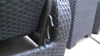 Endura Lounger 3-piece Patio Set