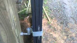 How To Make A 14ft Wood Gate Part 10