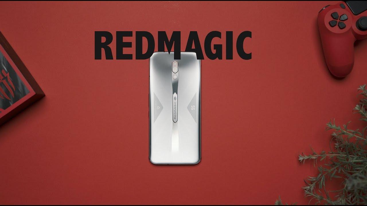 اقوى جوال للألعاب  RedMagic 5S