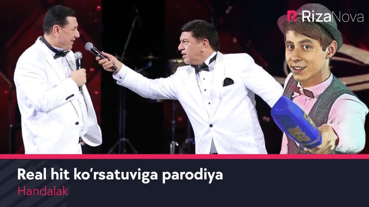 Handalak - Real hit ko'rsatuviga parodiya | Хандалак - Реал хит курсатувига пародия