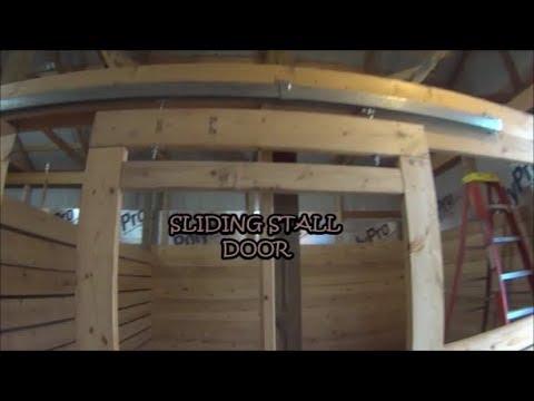 BUILDING A HORSE STALL DOOR