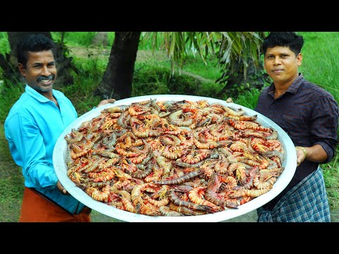 tiger prawns curry cooking skill prawns masala recipe village food channel kerala cooking pachakam recipes vegetarian snacks lunch dinner breakfast juice hotels food   kerala cooking pachakam recipes vegetarian snacks lunch dinner breakfast juice hotels food