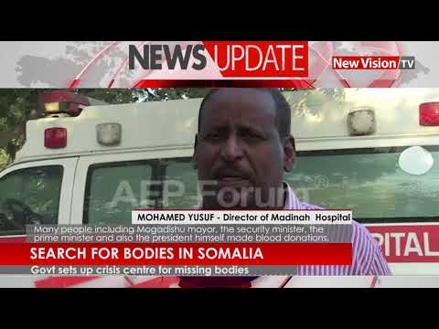Search for bodies in Somalia continues