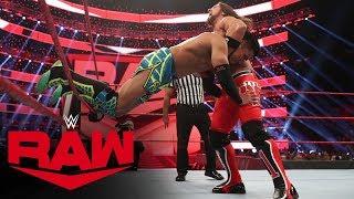 Akira Tozawa vs. AJ Styles: Raw, Jan. 6, 2020