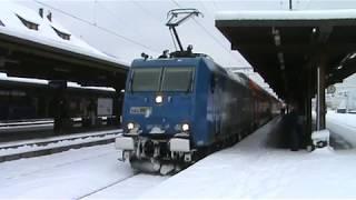 "BLS Br 185 ""527"" & ""525"" mit Thun-Fribourg zug (DB) [2009]"