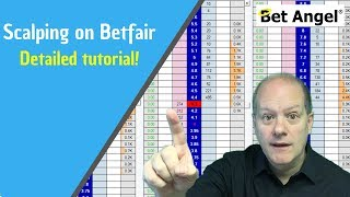Peter Webb - Bet Angel - Scalping on Betfair explained - Full tutorial
