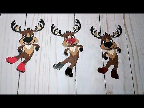 Tutorial: How To Paper Piece Reindeer