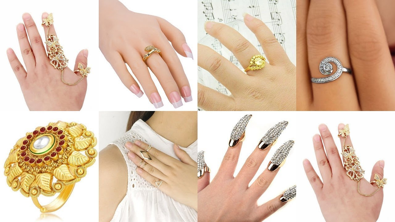 latest fashion rings for girls || fashion rings for women ...