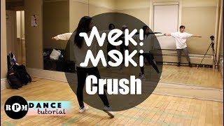 "Weki Meki ""Crush"" Dance Tutorial (Pre-Chorus, Chorus, Breakdown)"