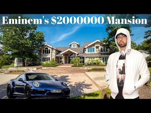 eminem's-house-tour-2019-(inside-&-outside)-|-car-collection