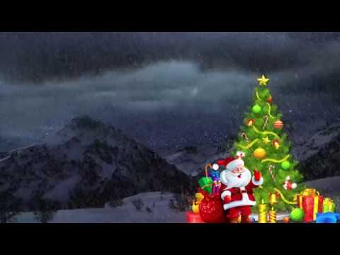 Free Christmas Tree HD Background Animation Video Effects Kishore