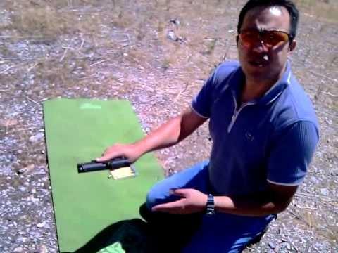 Pistola semi-automatica Solucion, cuando el cartucho se atora en la recamara