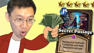 Best Card in HS = Best Deck in HS... Right? | Secret Passage | Scholomance Academy | Hearthstone
