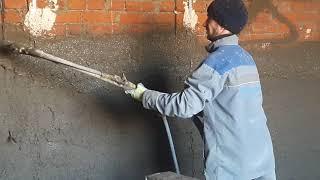 Механизированная штукатурка цементно-песчаная(, 2017-11-03T08:01:47.000Z)