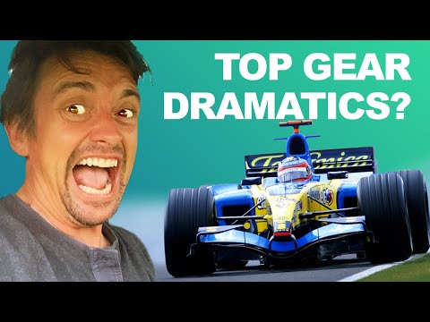 Pro Driver Breaks Down Richard Hammond Driving F1 Car on Top Gear
